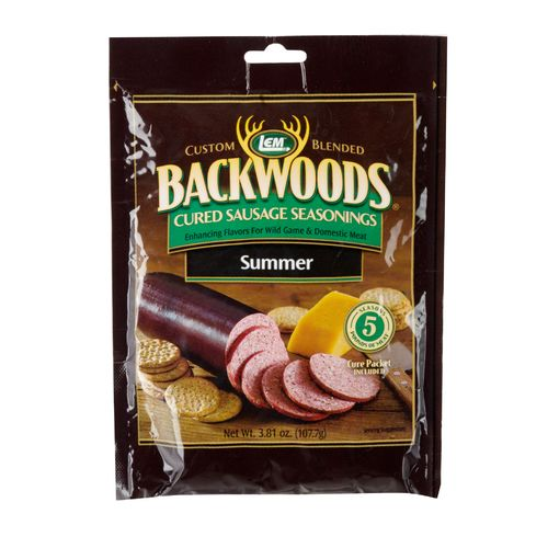 Display product reviews for LEM Backwoods Cured Summer Sausage Seasoning