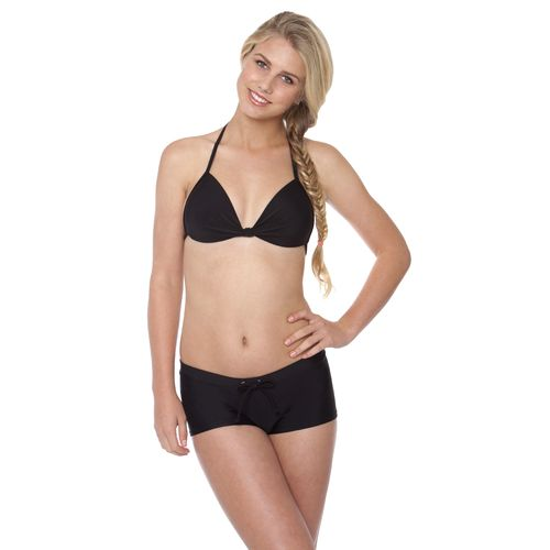 Image for O'Rageous® Juniors' Solid Molded Bralette Swim Top from Academy