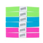 Soffe Neon Hair/Wristbands 3-Pack
