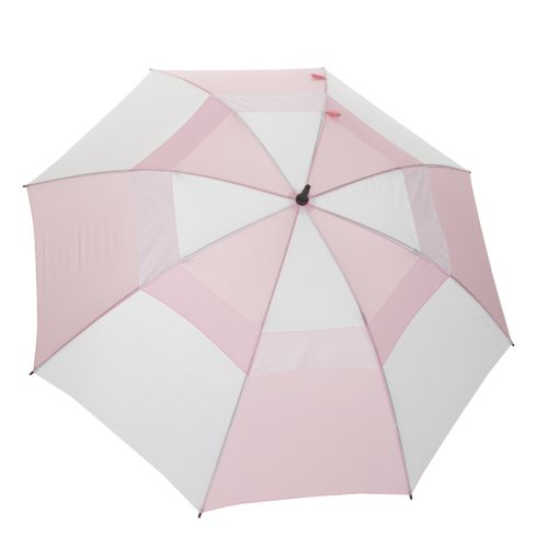 "Wilson Ultra™ 62"" Pink and White Umbrella"