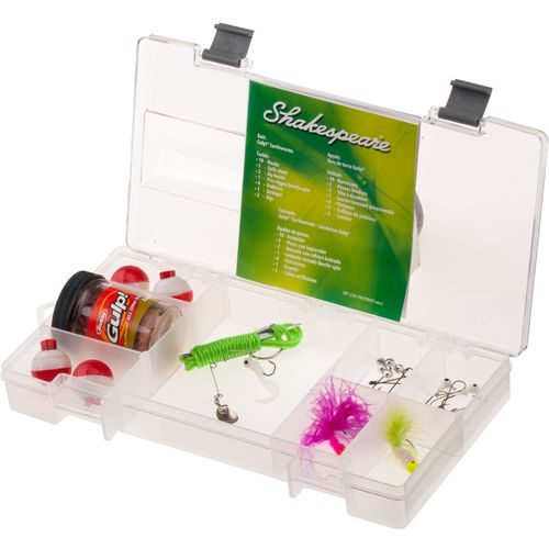 Shakespeare® Catch More Fish Panfish Tackle Box Kit
