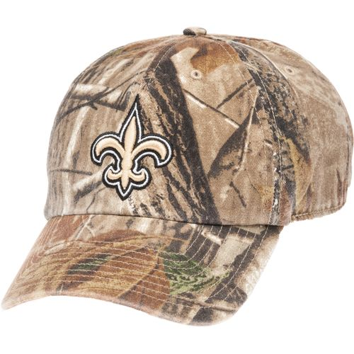 '47 Men's New Orleans Saints Realtree Clean Up Relaxed Cap