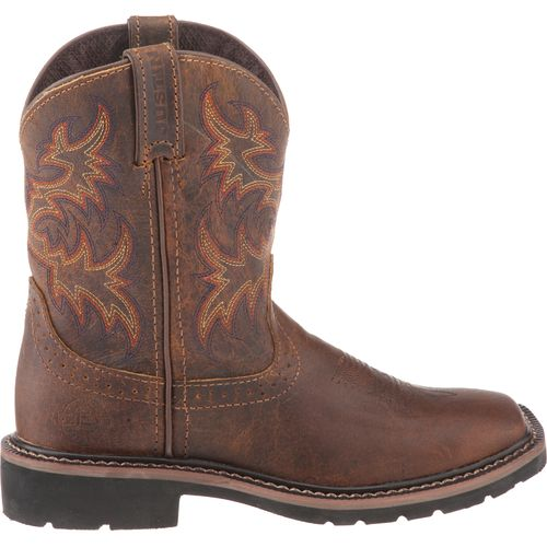 Justin Kids' Rugged Buffalo Boots