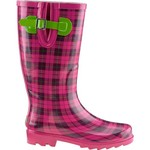 Austin Trading Co.™ Women's Plaid Rubber Boots