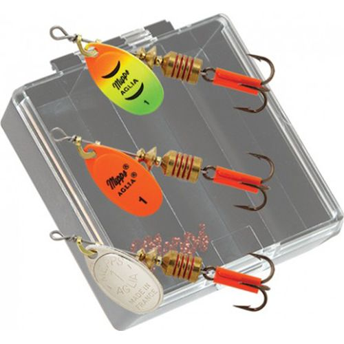 Mepps Aglia Pocket Pac Trout Spinner Kit