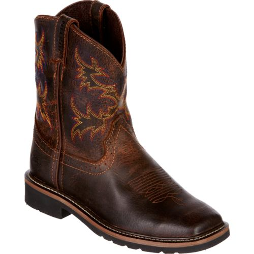 Justin Kids' Rugged Buffalo Boots - view number 3