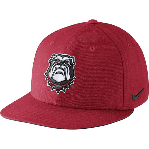 Nike™ Men's University of Georgia Players True Snapback Cap