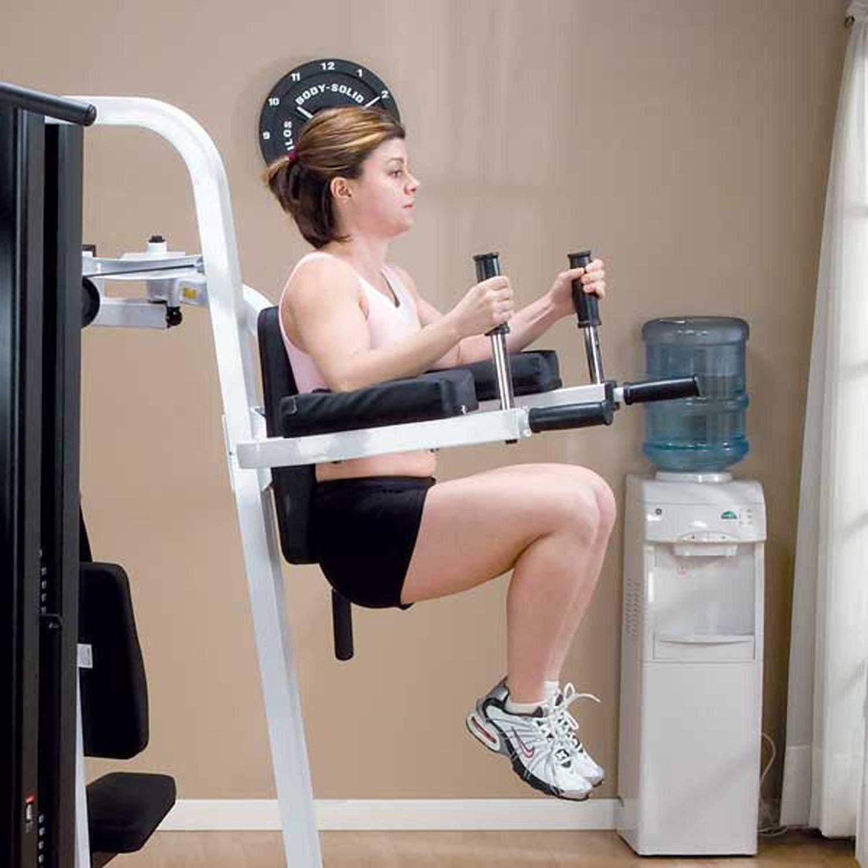 Body-Solid VKR30 Vertical Knee Raise Dip Station