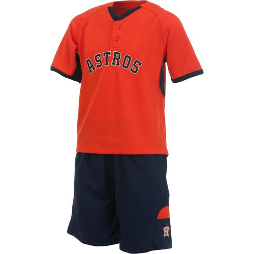 Majestic Boys' Houston Astros Home Run Short and T-shirt Set - view number 2