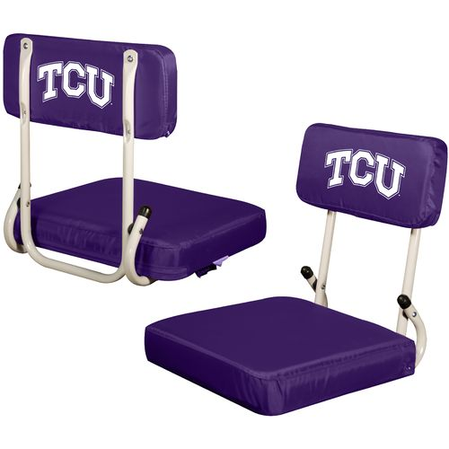 Display product reviews for Logo™ Texas Christian University Hard Back Stadium Seat