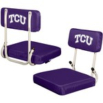 Logo Chair Texas Christian University Hard Back Stadium Seat