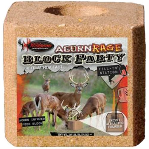 Wildgame Innovations Acorn Rage Block Party 20 lb. Salt Block