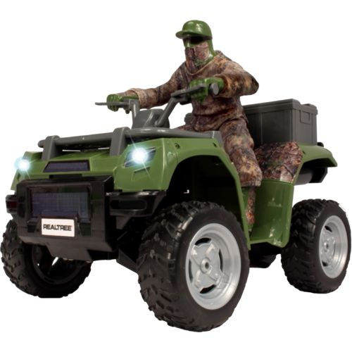 NKOK Realtree Camo RC ATV with Rider