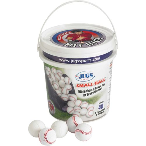 JUGS Small-Ball® 5' Baseballs 48-Count Bucket