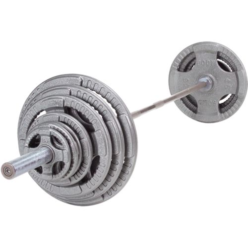 Body-Solid 255 lb. Steel Grip Olympic Weight Set