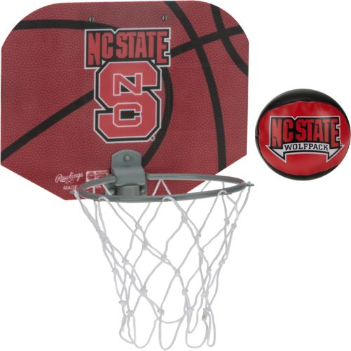 NCAA North Carolina State University Slam Dunk Softee Hoop Set