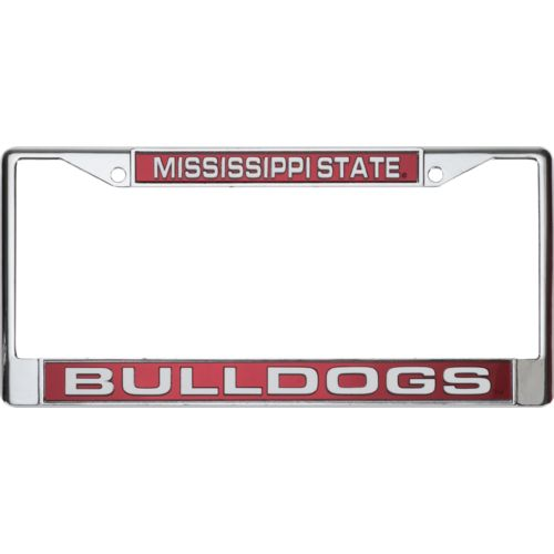 Rico Mississippi State University Laser-Cut License Plate Frame