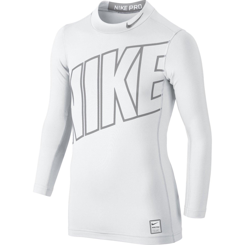 Nike Boys' Hyperwarm High Brand Read Mock Neck