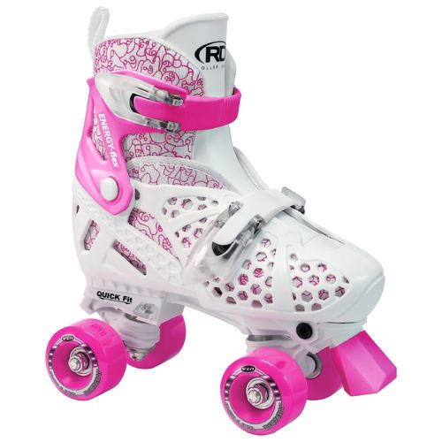 Display product reviews for Roller Derby Girls' Trac Star Adjustable Quad Skates