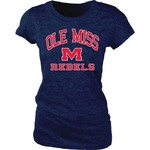 Blue 84 Juniors' University of Mississippi Triblend T-shirt