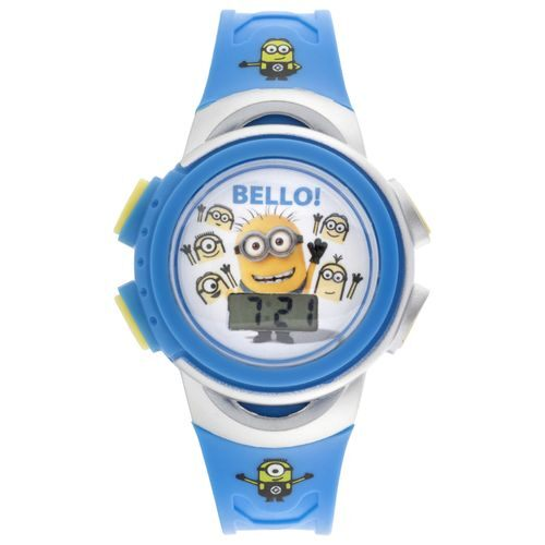 Universal studios kids 39 despicable me minions watch academy for Despicable watches