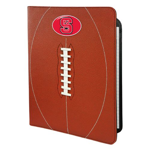 GameWear North Carolina State University Classic Football Portfolio with Notepad