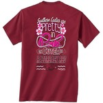 New World Graphics Women's University of Arkansas Cuter in Team T-shirt