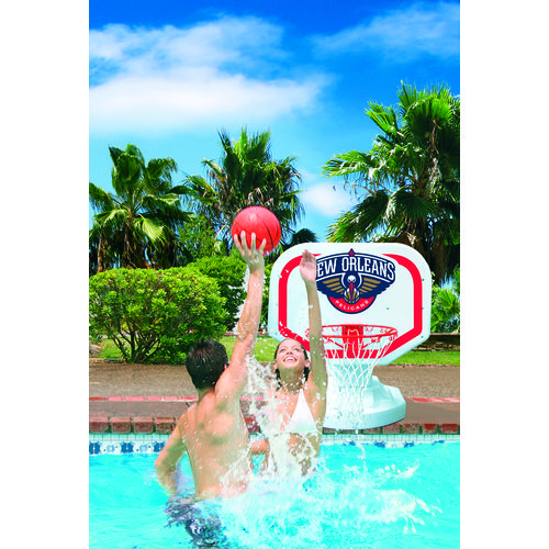 Poolmaster® New Orleans Pelicans Competition Style Poolside Basketball Game - view number 2