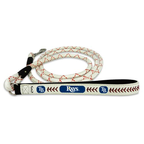 GameWear Tampa Bay Rays Medium Leather Baseball Leash