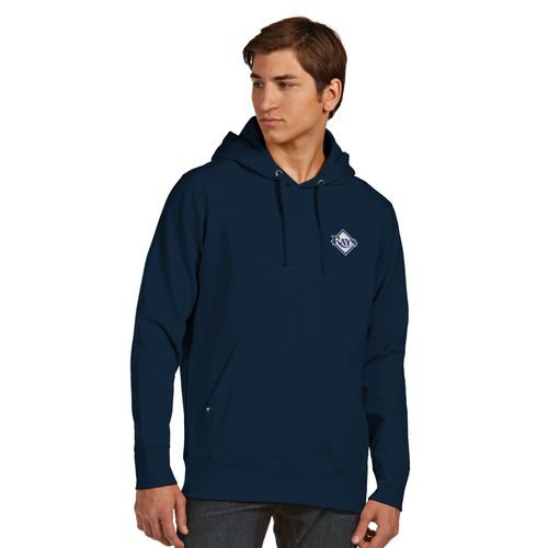 Antigua Men's Tampa Bay Rays Signature Pullover Hoodie - view number 1
