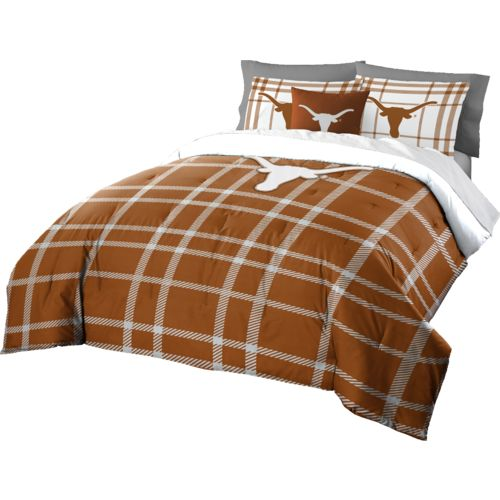 The Northwest Company University of Texas Full Comforter and Sham Set