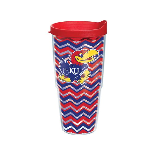 Tervis University of Kansas Chevron Tumbler with Lid