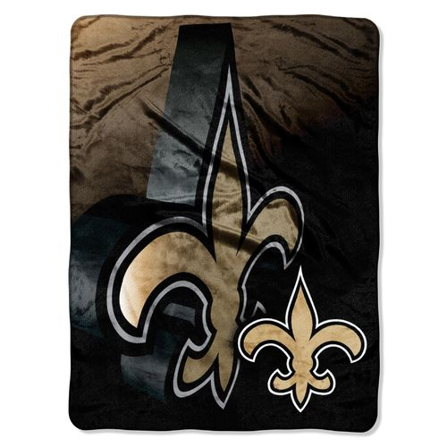 The Northwest Company New Orleans Saints Bevel Micro Raschel Throw