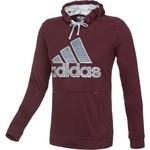 adidas Men's Illuminated Screen Ultimate Fleece Pullover Hoodie