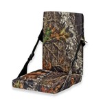 Mossy Oak Heat Seat Foam Cushion with Back Rest