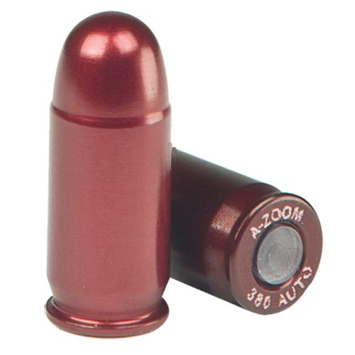A-Zoom .380 ACP Aluminum Snap Caps 5-Pack