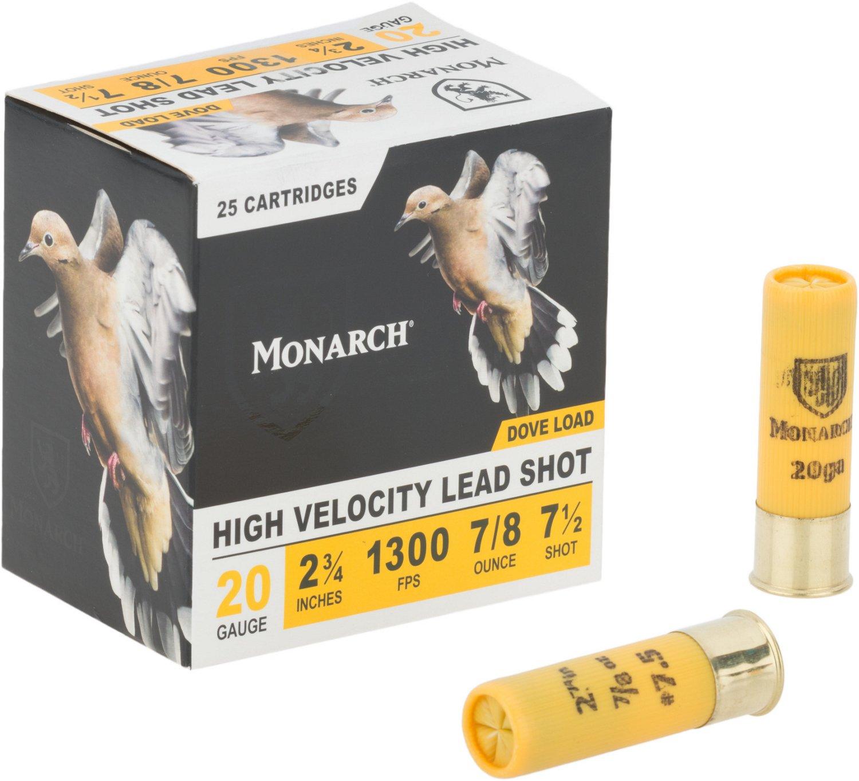 Monarch® Light Dove 20 Gauge Shotshells