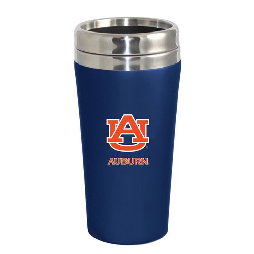 The Fanatic Group Auburn University 16 oz. Rubberized Stainless-Steel Tumbler