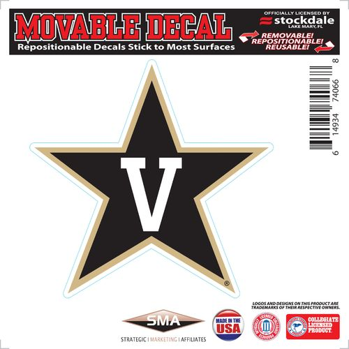 Stockdale Vanderbilt University 6' x 6' Decal