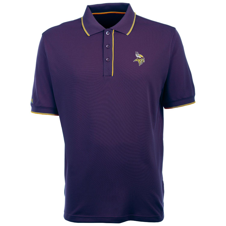 Antigua Men's Minnesota Vikings Elite Polo Shirt
