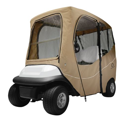 Classic Accessories Deluxe Short Roof Golf Cart Enclosure