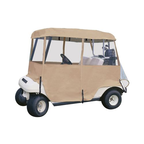 Display product reviews for Classic Accessories Fairway Deluxe 4-Sided Golf Cart Enclosure