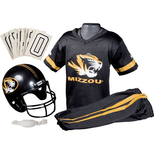 Franklin Kids' University of Missouri Deluxe Football Uniform Set