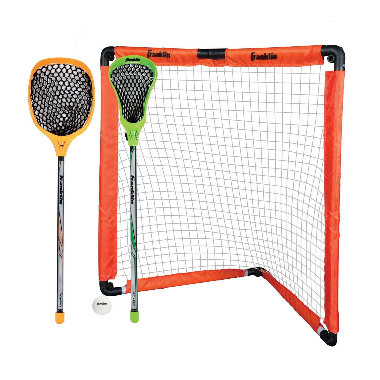 "Display product reviews for Franklin 36"" Insta-Set Lacrosse Goal Set"