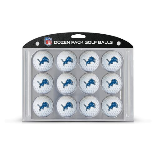 Team Golf Detroit Lions Golf Balls 12-Pack