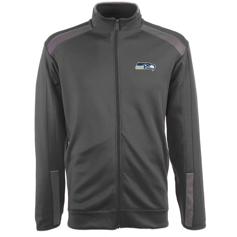 Antigua Men's Seattle Seahawks Flight Jacket
