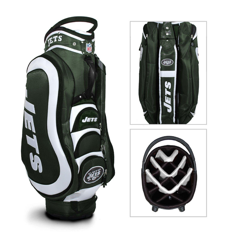 Team Golf New York Jets Medalist Golf Cart