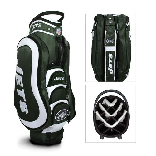 Team Golf New York Jets Medalist Golf Cart Bag