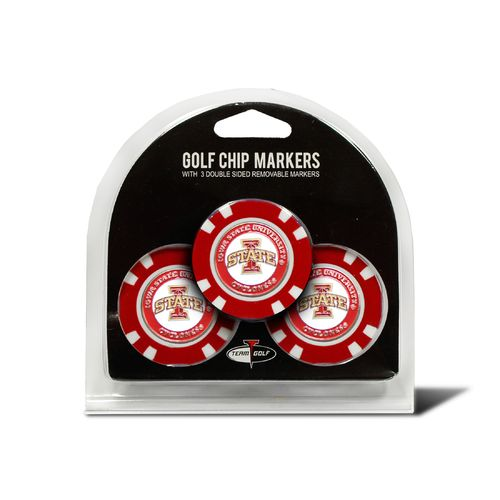 Team Golf Iowa State University Poker Chip and Golf Ball Marker Set - view number 1