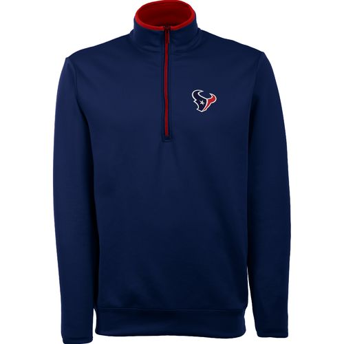 Antigua Men's Houston Texans Leader Pullover